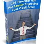 101 Tips To Fix Your Credit Score PLR eBook
