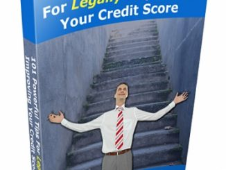 credit score plr ebook