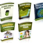 Going Green eBooks Bundle (MRR)