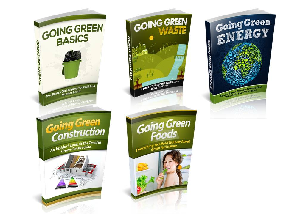 going green ebooks