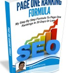 Page One Ranking Formula (MRR eBook)