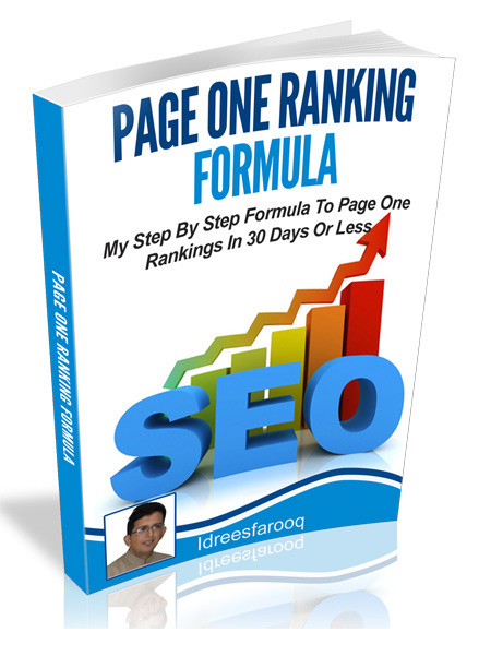 page one ranking