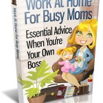 Work At Home For Busy Moms (MRR eBook)