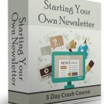 Starting Your Own Newsletter eCourse (5 Lessons)