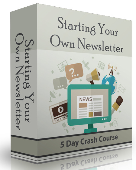 start your own newsletter ecourse