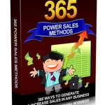 365 Powerful Sales Methods (Personal Use Rights eBook)