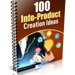 100 Info Product Creation Ideas (MRR Report)