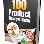 100 Product Review Ideas (MRR eBook)