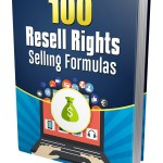 100 Resell Rights Selling Formulas (MRR eBook)
