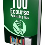 eCourse Publishing Tips – 100 Techniques (MRR eBook)