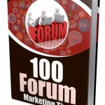 100 Forum Marketing Tips (MRR eBook)