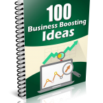 100 Business Boosting Ideas (MRR eBook)