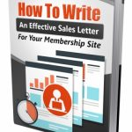 How To Write An Effective Sales Letter (MRR Report)