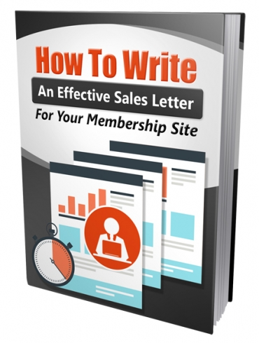 how to write an effective sales letter