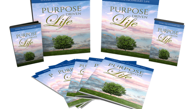 Purpose Driven Life Pack