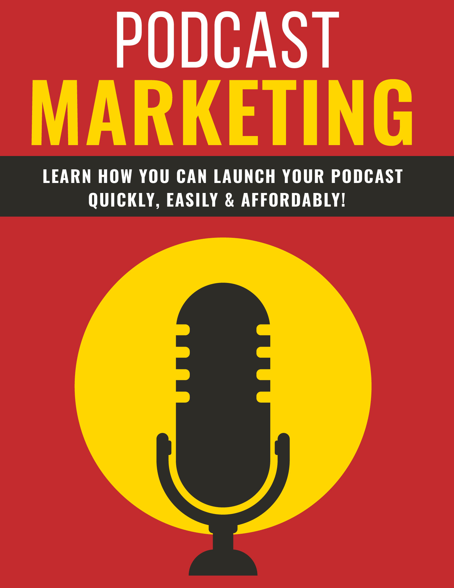 Podcast Marketing ecover