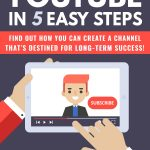 Youtube In 5 Easy Steps (eBook + Email Series)