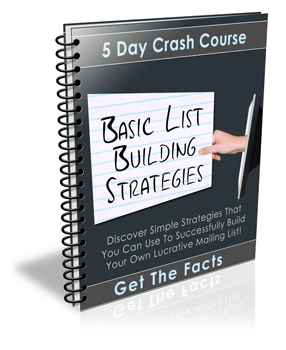 list building strategies ecourse